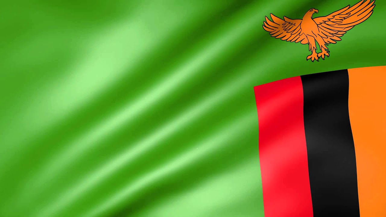 Animated Flag of Zambia