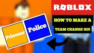 ROBLOX - So erstellen Sie eine Teamänderungs-GUI
