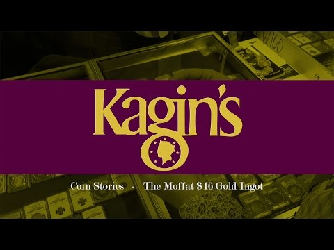 CoinWeek Sponsor Video: Kagin's Coin Stories: The Moffat $16 Gold Ingot - 4K Video