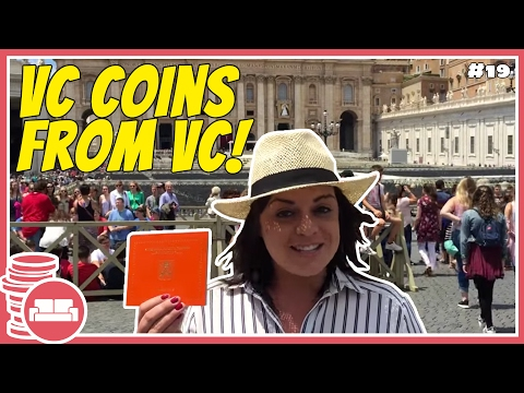 Vatican City Coin Set in Vatican City!
