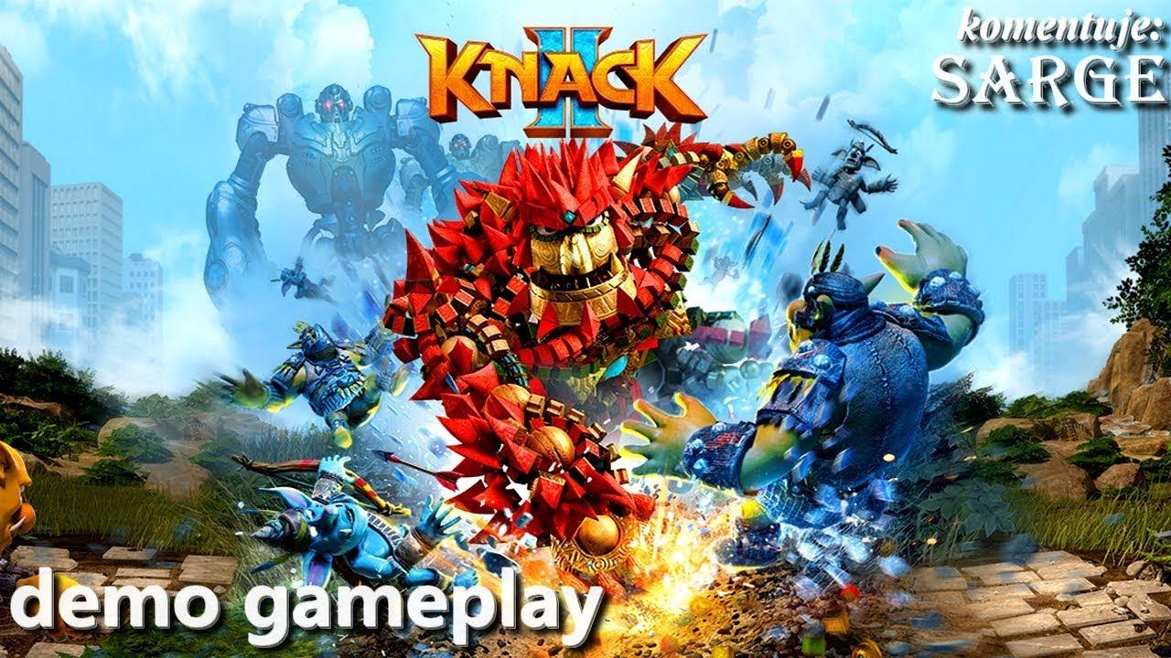 Knack 2 (demo gameplay) – Nowe przygody Knacka