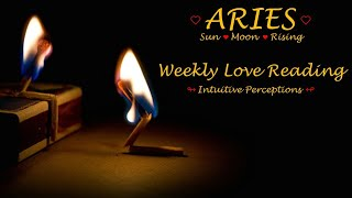 ARIES - AUGUST 19-25 2018 LOVE TAROT READING