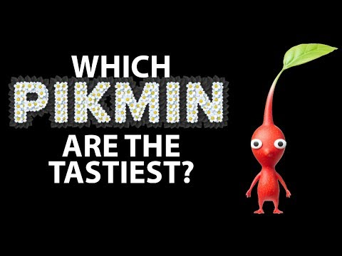 Which Pikmin are the Tastiest?