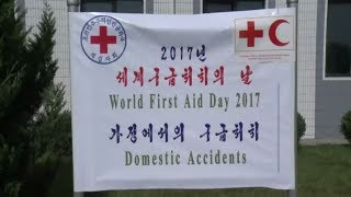 World First Aid Day 2017 Marked in DPRK