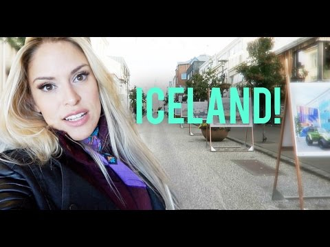 ICELAND Day 1 - Reykjavik Vlog - Finding Vegan Food, Shopping and More!