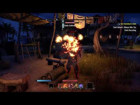 The Elder Scrolls Online - The Spearhead's Crew: Explore Saintsport & Find Crafty Lerisa (2015)