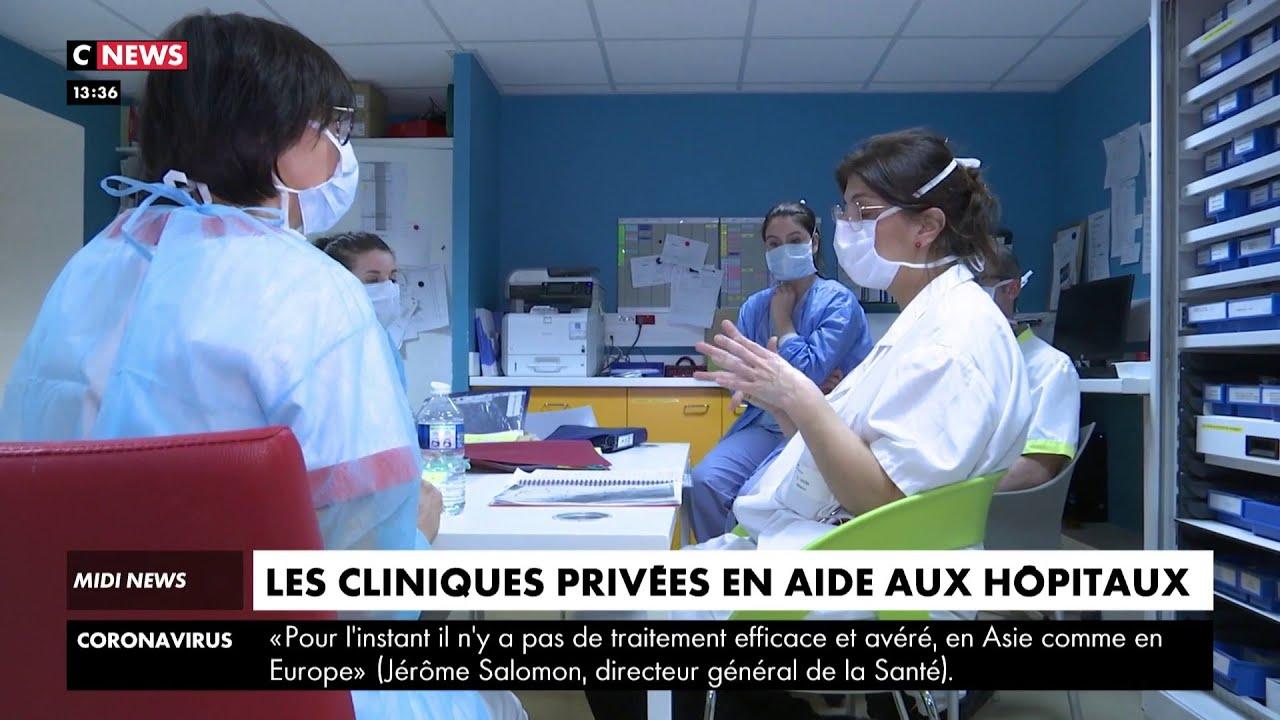 Les cliniques privées viennent en aide à l'hôpital public