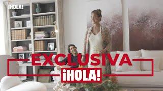 En ¡HOLA!, María Pombo y Pablo Castellano, miradas cómplices y gestos de cariño en su nueva casa