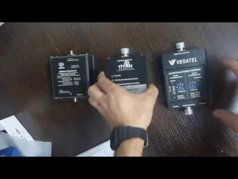 Распаковка и беглый осмотр репитеров GSM900