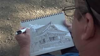 Drawing - Sketching in Tokyo