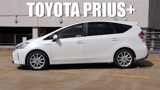 (ENG) Toyota Prius+ / Prius V 2015 - Test Drive and Review