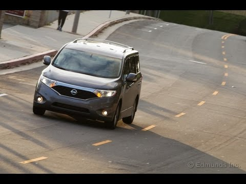 2012 Nissan Quest Minivan Review