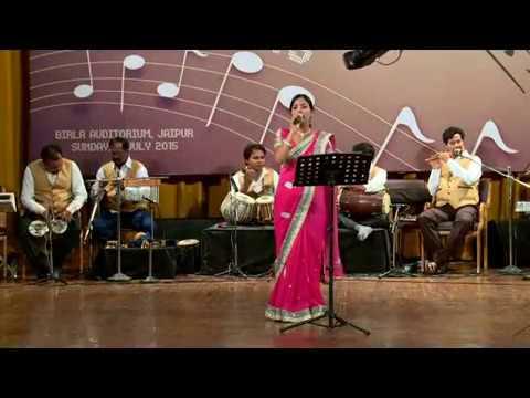 Seema Mishra Live Performance!!! Woh Bhooli Daastaan 2015