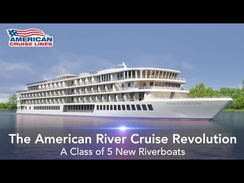 American Cruise Lines Announces 5 Revolutionary New Riverboats