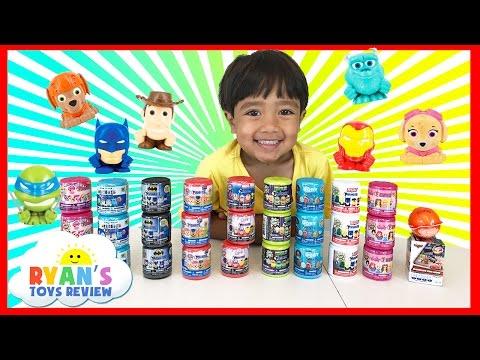 HUGE 27 MASHEMS & FASHEMS Surprise Toys Opening for Kids!!