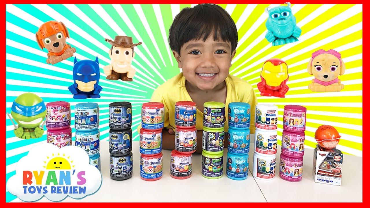 Huge 27 Mashems Amp Fashems Surprise Toys Opening For Kids