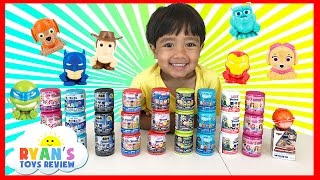 HUGE 27 MASHEMS & FASHEMS Surprise Toys Opening for Kids Surprise Kinder Egg Disney Cars