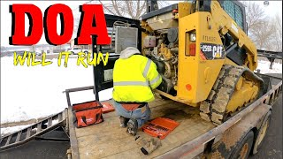 Buying a CHEAP Cat skid steer, sight unseen, online.  Will it run in Minnesotas Winter? 4 k