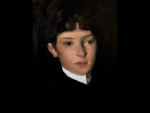 Portrait Painting Tutorial | John Singer Sargent Master Copy | Extended Footage