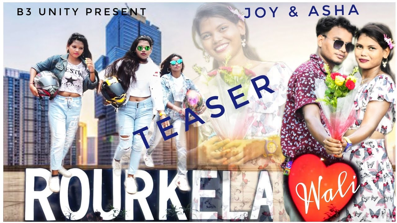 //B3 UNITY PRESENT//ROURKELA WALI  Teaser  Video 2021 //*ing . Joy & Asha// singer.Bandhu Lohar/