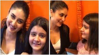 Kareena Kapoor Khan MEETS and GREETS Her Little Fan | Bollwood Rewind