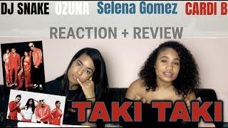 DJ Snake - Taki Taki ft. Selena Gomez, Ozuna, Cardi B REACTION/REVIEW