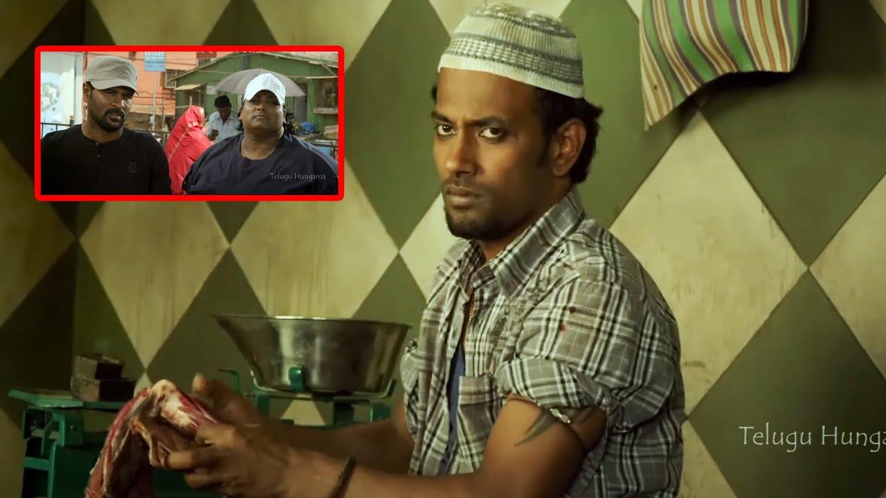 Prabhu Deva And Dharmesh Ultimate Movie Scene | Telugu Scenes | Telugu Hungama