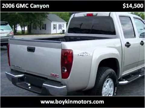 2006 gmc canyon used cars smithfield nc youtube for Boykin motors smithfield nc