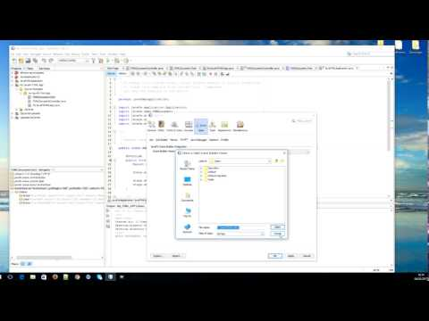 Tutorial 1 -  Integrate Scene Builder into Netbeans 8  ( Java  / JavaFX FXML ))