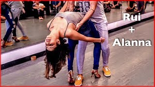Brazilian Zouk Dance by Rui Tavares & Alanna Caroline at New York City Zouk Festival 2019