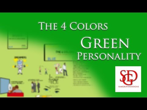 Green Learning Style - Personality Profile