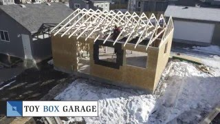 Timelapse Of Garage Construction