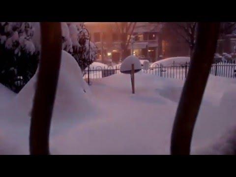 Snowzilla / Blizzard of 2016 timelapse on Capitol Hill (Washington, DC)