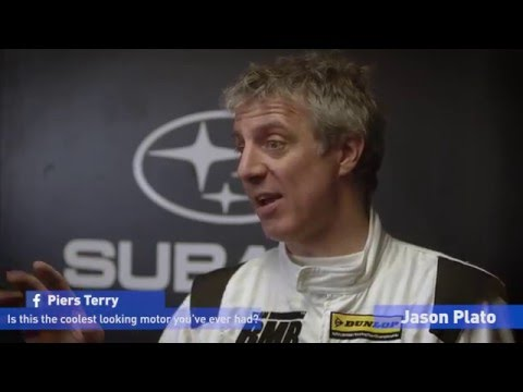 BTCC Season Launch 2016 - Jason Plato Interview