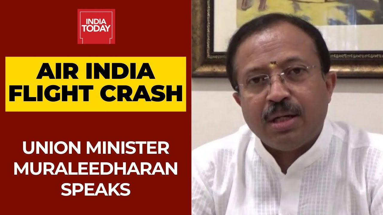 Kerala Air India Crash: Union Minister V. Muraleedharan Shares Information from the Dubai Consulate
