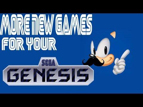 More New Games for your Sega Genesis