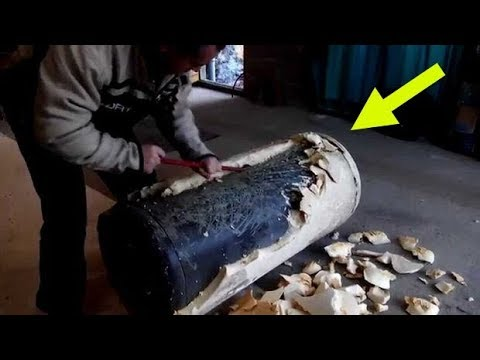Anyone Thinking Of Throwing Out An Old Water Heater Should Follow This Guy s Lead Instead