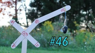 Target Practice Tuesday EP #46 Homemade Popsicle Stick Target With The CO2 Pistol