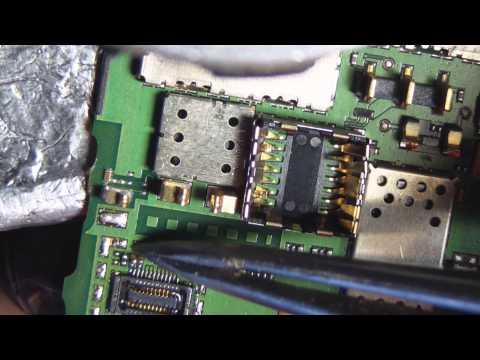 Nokia 6303 замена коннектора дисплея и самого дисплея