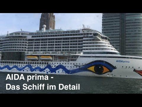 AIDA prima - Das Schiff im Detail