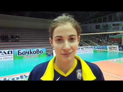 Interview Mariya Dancheva - December 10, 2013