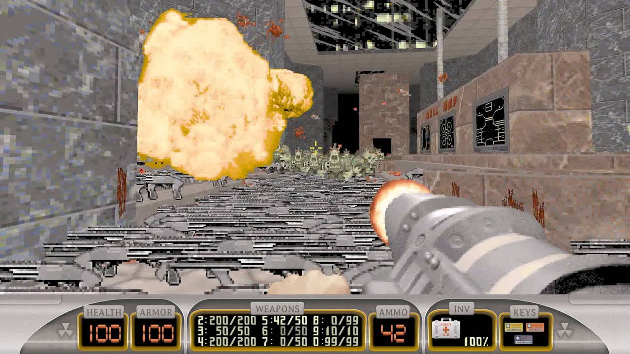 Duke Nukem 3D Megaton Edition SP Map Zombie Outbreak