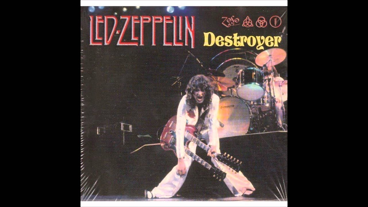 1977 Led Zeppelin Destroyer The Song Remains The Same Youtube