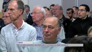 Fibre : le déploiement se prépare à Voisins-le-Bretonneux