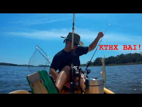 Kayak Fishing At Shellmound Cedarkey Fl