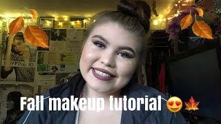 Fall Makeup Tutorial (Bronze Glitter Eyes)   Lizah's World