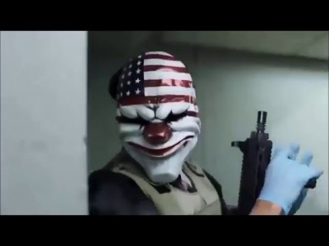 Payday 2 webseries + all live action movies cut together