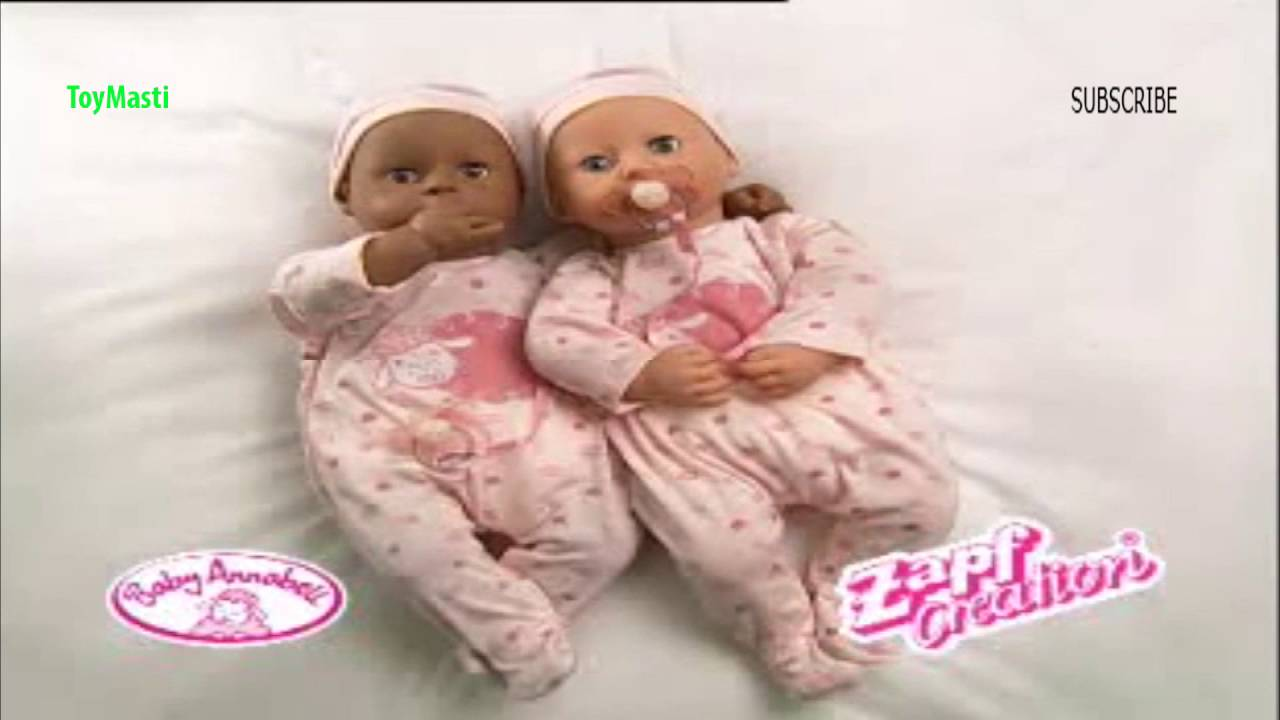Baby Annabell Zapf Creations Full Non Stop HD Video - YouTube