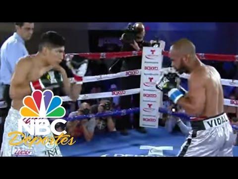 Ricardo Rodríguez vs. Jonathan Vidal (Pelea completa) | Boxeo Telemundo | NBC Deportes
