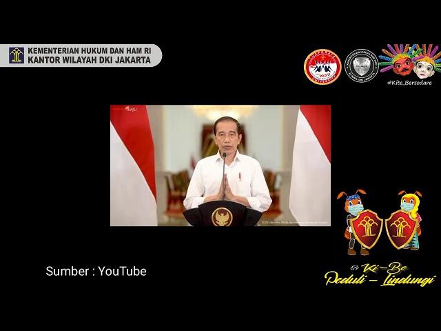 Inovasi layanan masa adaptasi kebiasaan baru yang digagas kanwil kemenkumham DKi Jakarta